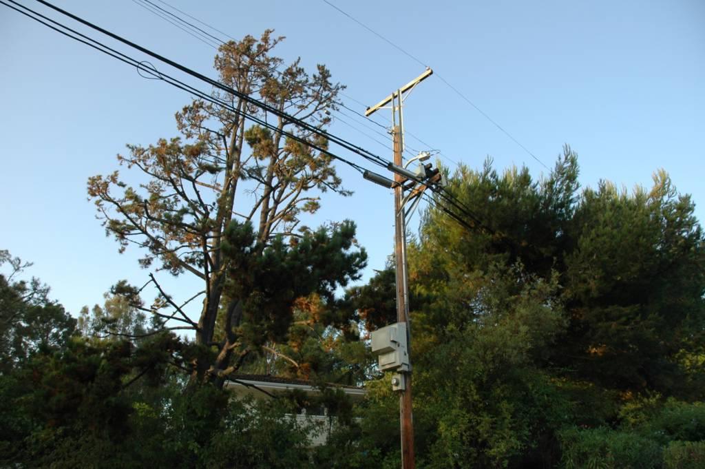 Antenna Spotting Utility Pole Antennas