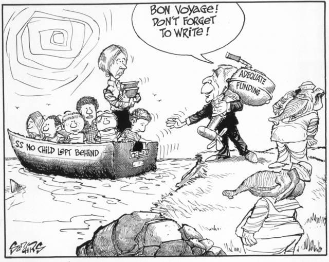 Sanders cartoon/commentary: October 2004