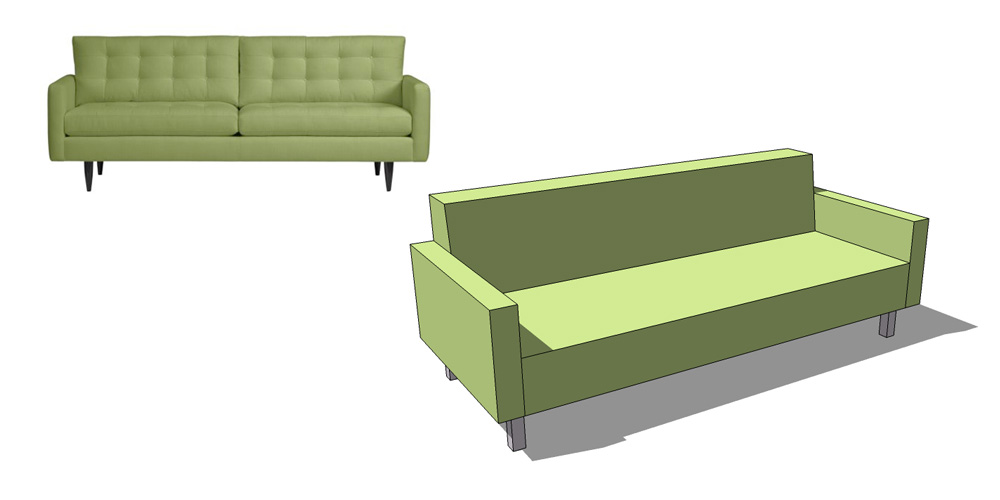 box type sofa designs