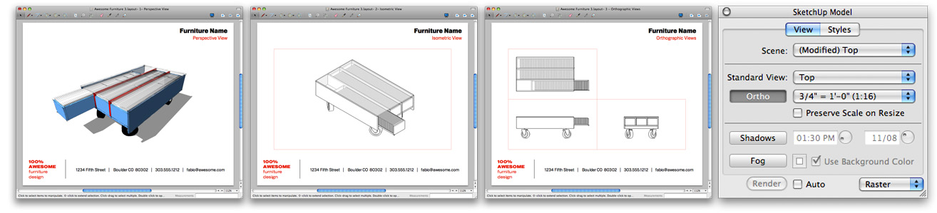 Sketchup & layout for architecture book the step-by-step.