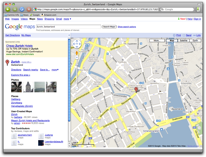 Retired SketchUp Blog: Earth view in Google Maps widens audience