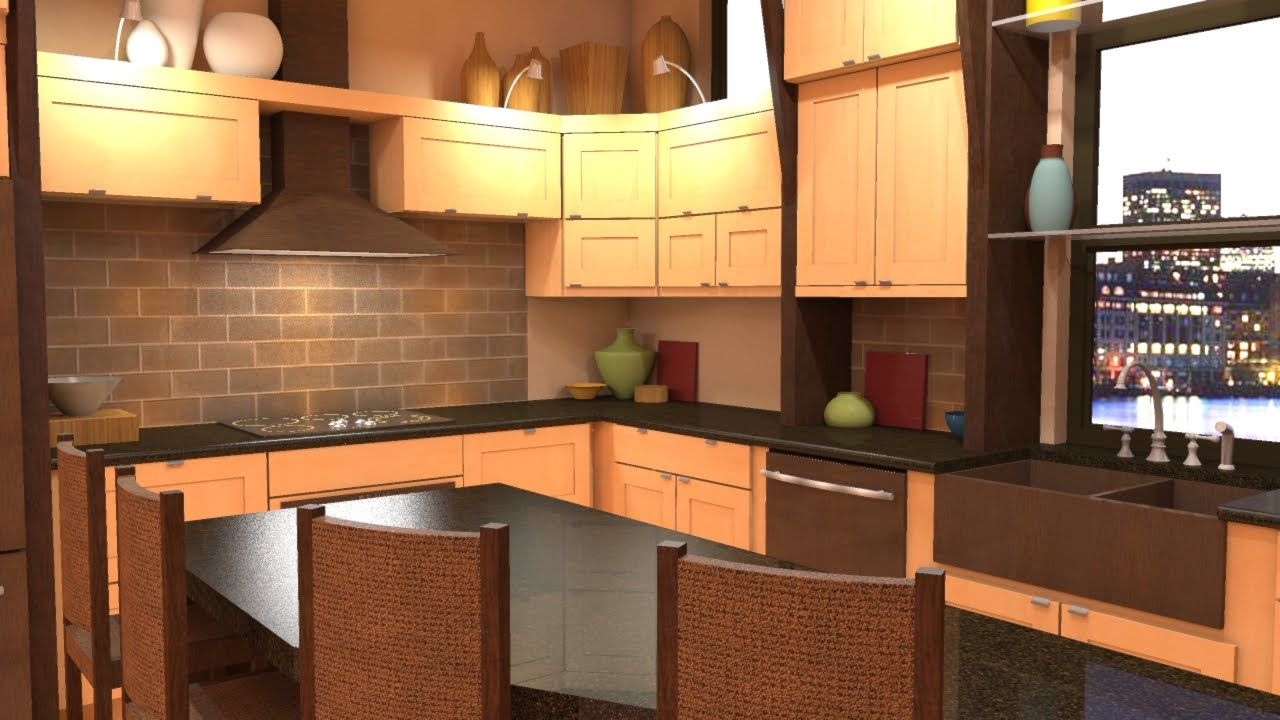 kitchen design software google sketchup photo rendering with shaderlight sketchup 479