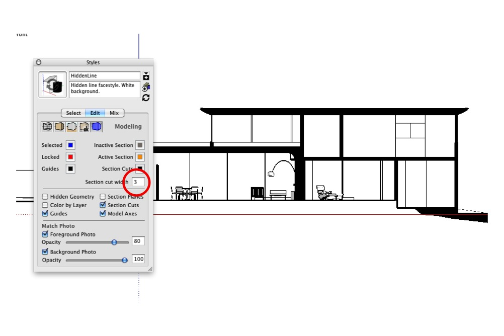 section cut face plugin sketchup for mac