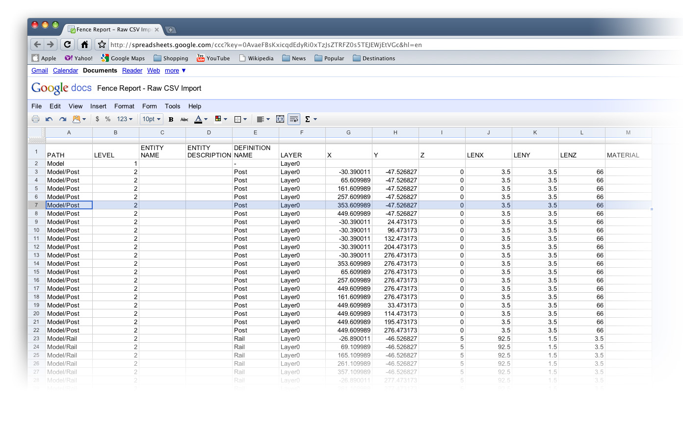 Retired Sketchup Blog Generating Reports From Your Models