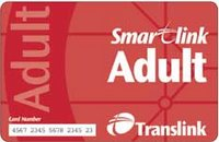Smartlink card from Translink - journeys that expire not credit
