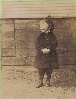 Dad, circa 1923, at Maughan Crescent, Toronto