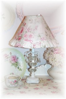 ~ Lampshade Slipcovers ~