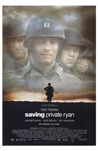 Poster from Wikipedia's review of Saving Private Ryan at http://en.wikipedia.org/wiki/Saving_Private_Ryan