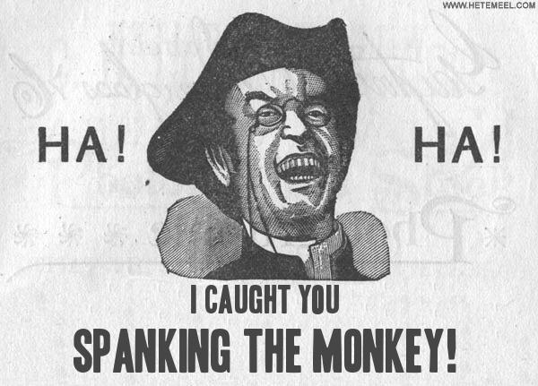 small boys with secret masturbation gay caught spanking - the monkey!