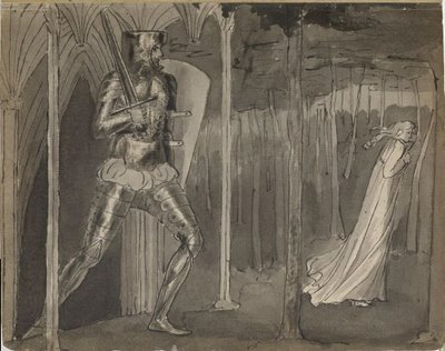 William Blake Sketch from British Library