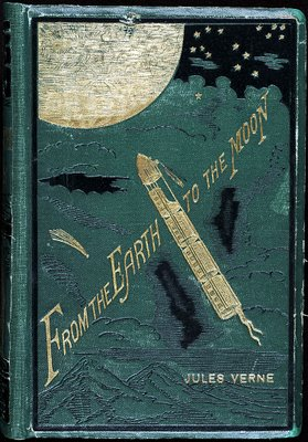 Book cover - Jules Verne: 'From the Earth to the Moon'