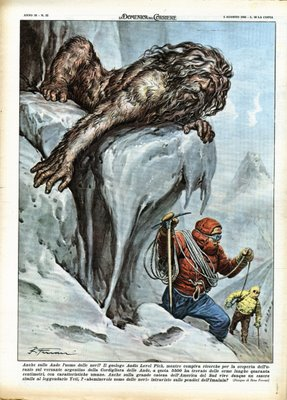 1956 Abominable Snowman from illustrated-history.org