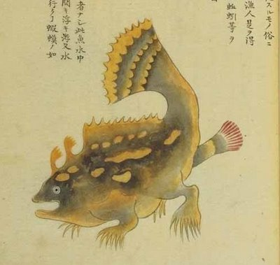 strange Japanese acquatic species