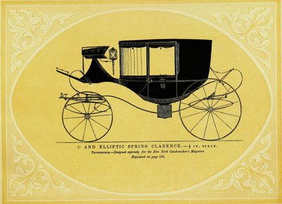 C and Elliptic Spring Wagon