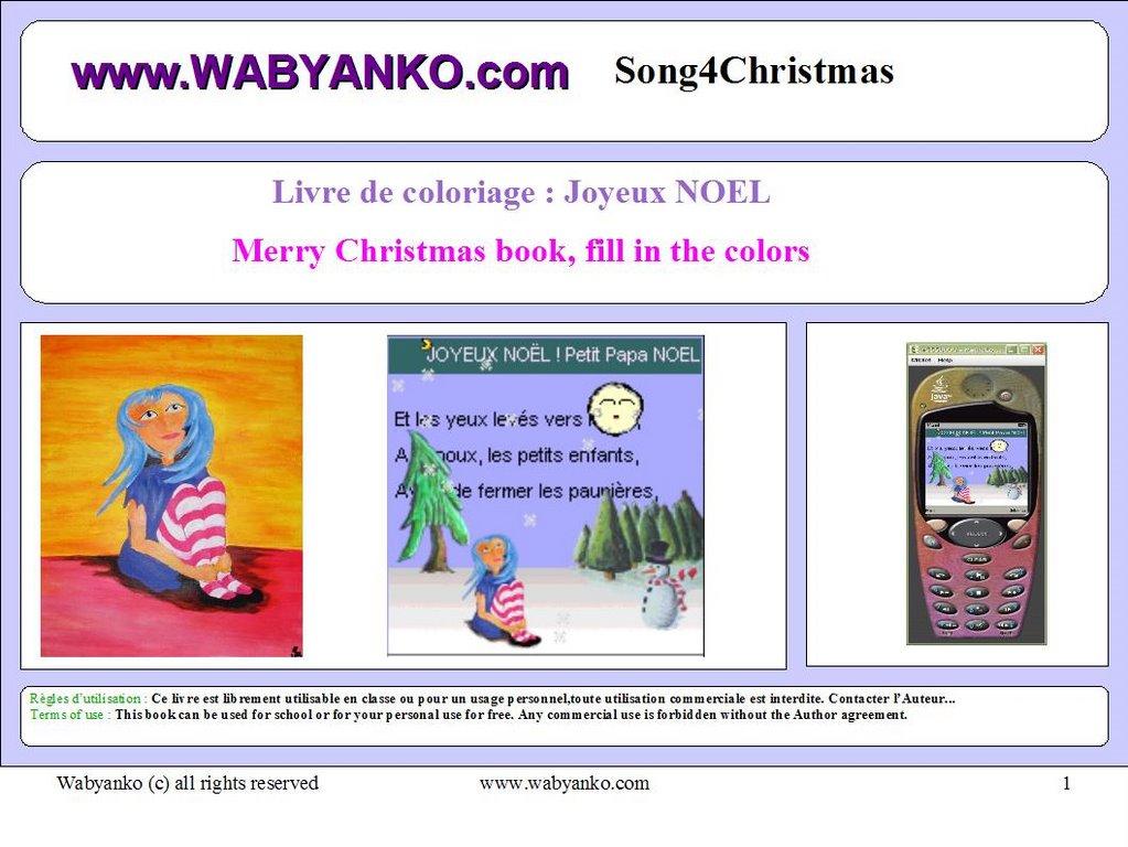 Noel Mini Livre De Coloriage Pour Enfants
