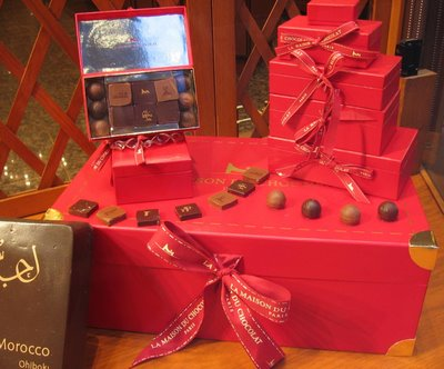 La Maison Du Chocolat Saint-Valentin window
