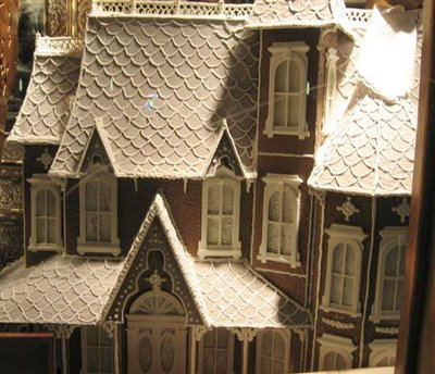 A Victorian Gingerbread house !