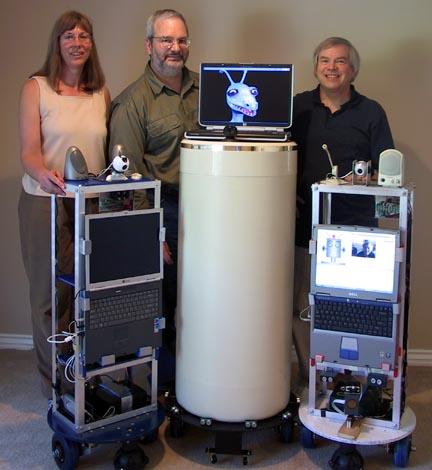 HiTechRavlik: The Leaf - Open source robot using artificial