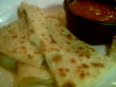 Quesadillas with Cheese and Poblano Chiles
