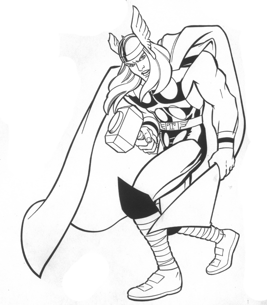 easy thor drawings - photo #5