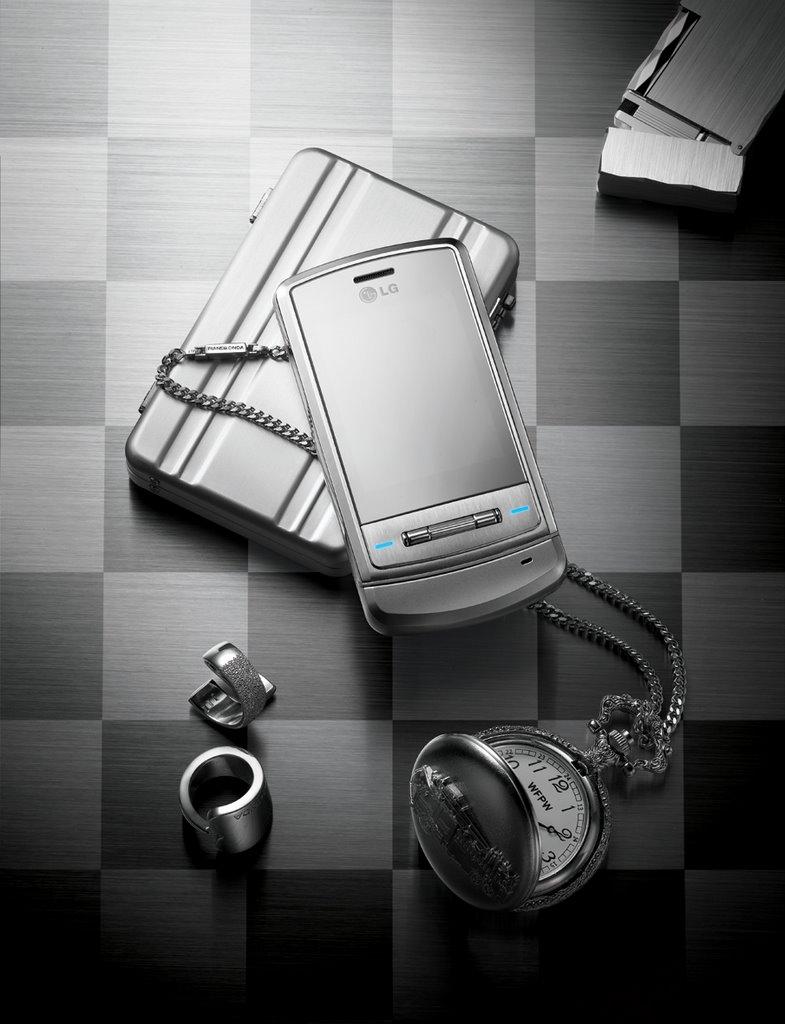 LG Shine phone: manual, software download