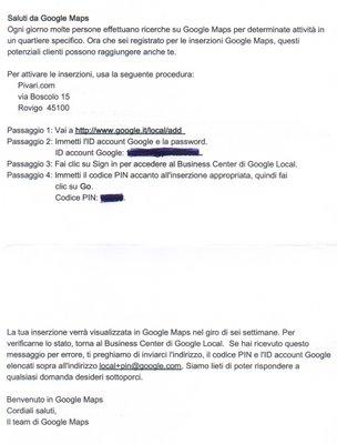 Google Maps Italia