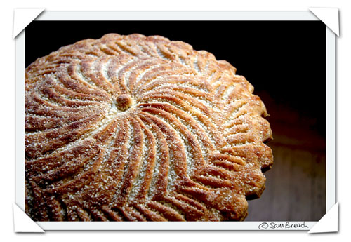 French traidition for celebrating the epiphany Kings Cake or Galette des Rois a frangipane pastry containing a feve. Whoever gets it in their slice becomes king for the day