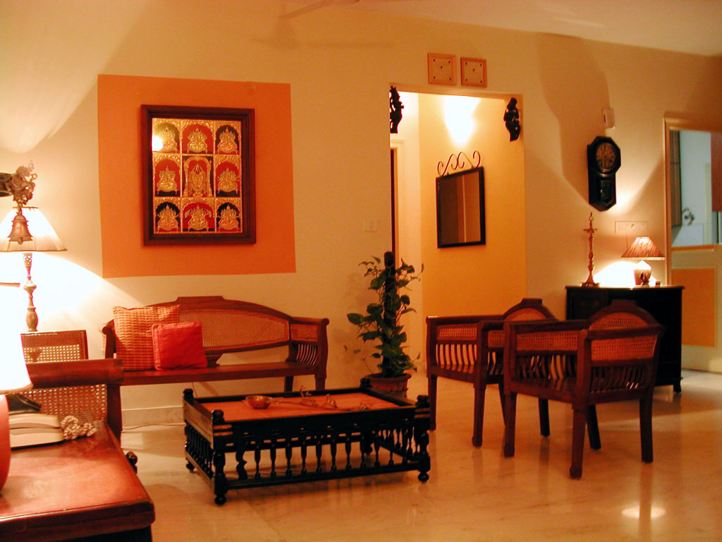 Rang decor interior ideas predominantly indian my home for Small house decoration images