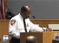 Chief Chalmers reports to Durham council that violent crime up 32% in '06