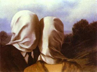 os amantes- magritte