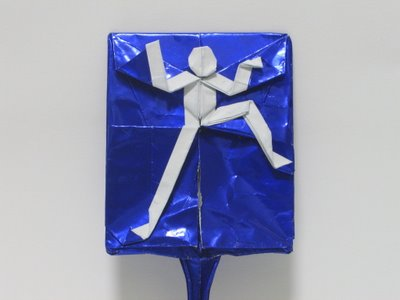 How To Make An Origami Man Swatter