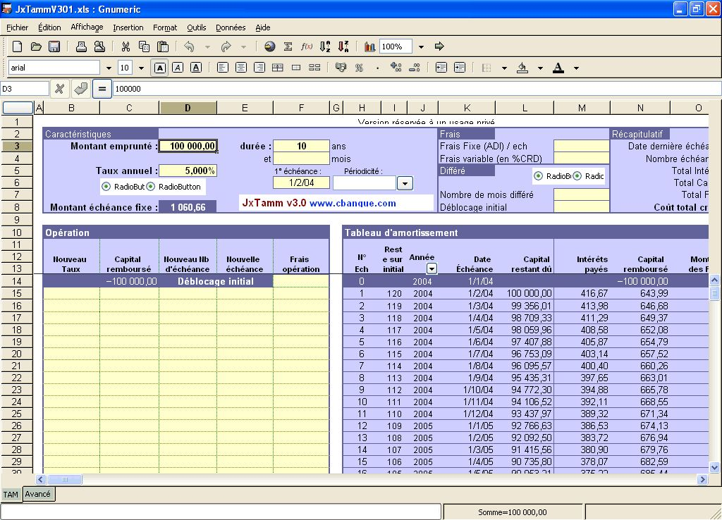 Gnumeric un tableur gratuit et portable freewares tutos - Open office excel gratuit ...