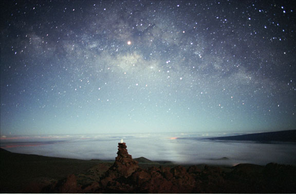 The Age Of Uncertainty The Night Sky Without Light Pollution