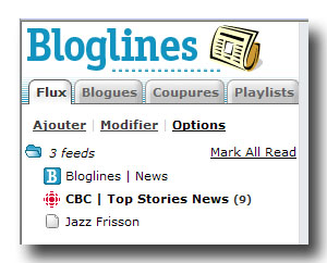 Flux RSS de CBC Top Stories News dans Bloglines
