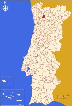 celorico de basto mapa Celorico de Basto   Digital: Mapa Celorico de Basto celorico de basto mapa