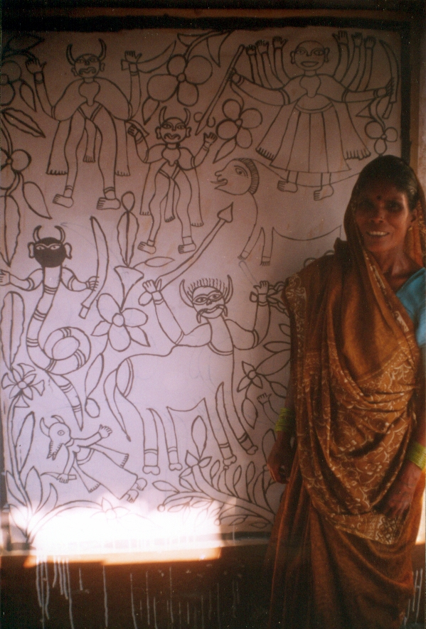 Mithila Wall Paintings India