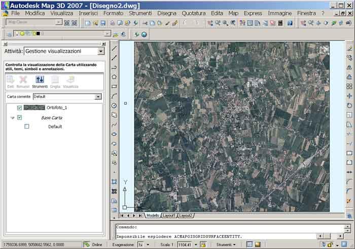 mappa ecw