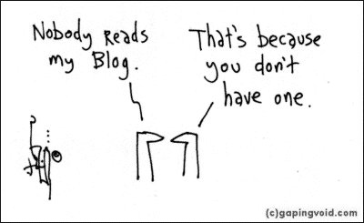 Nobody reads my blog