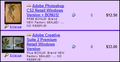 Pirated Adobe Software