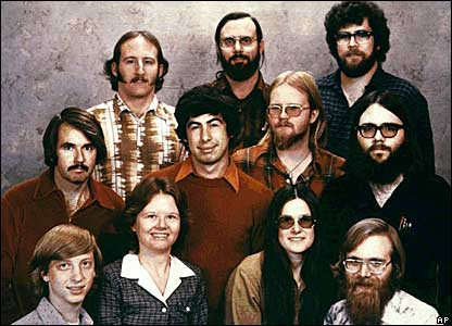 Bill Gates 1978 Microsoft Founders