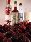win a 500ml bottle of handmade cherry vodka