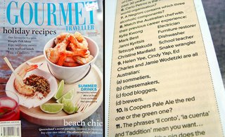 australian gourmet traveller january 2007