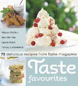 win a copy of Taste Favourites cookbook