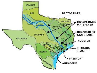 Brazos River Map Map Of Brazos River In Texas | Business Ideas 2013 Brazos River Map