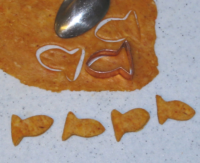 how to make goldfish food without gelatin