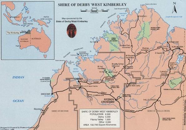 Map Australia 4371.Not In Kansas Anymore Derby