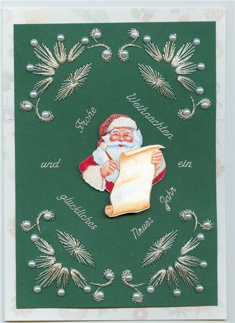 ulli 39 s blog noch mehr weihnachtskarten mit fadengrafik. Black Bedroom Furniture Sets. Home Design Ideas