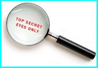 Top Secret Eyes Only Magnfying Glass C