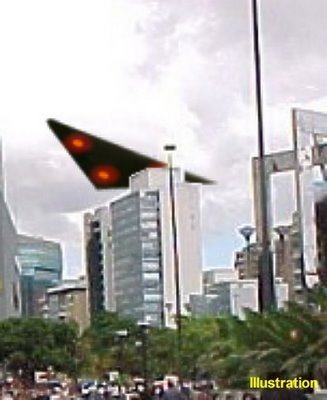 UFO Triangle Over Caracas