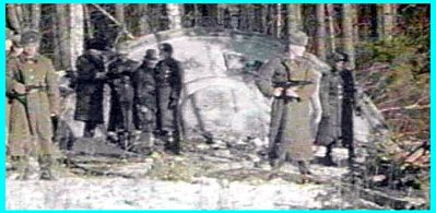 Russians Guarding Crashed UFO